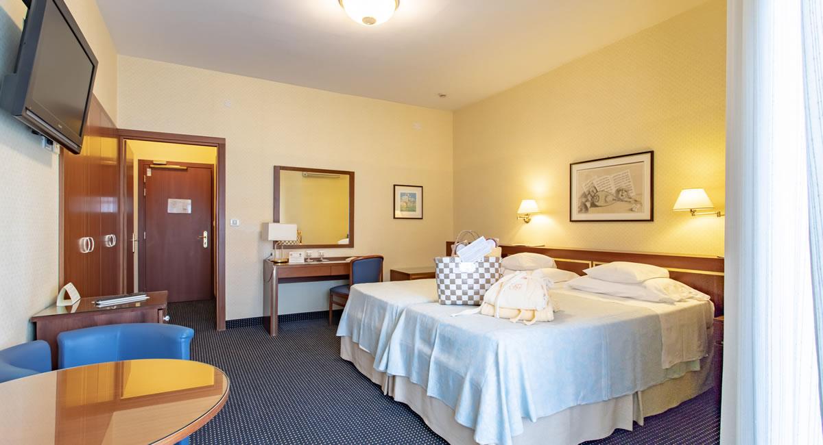 Camera Twin Comfort Hotel Garden Terme