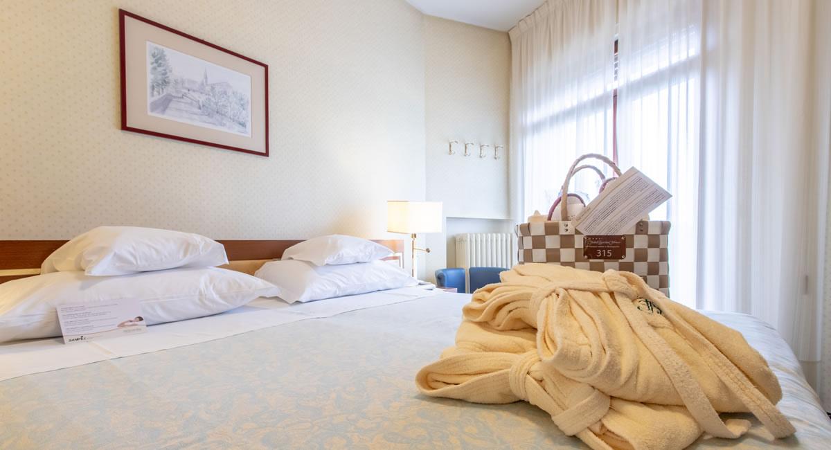 Comfort twin room Hotel Garden Terme